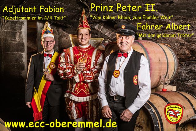 Prinz Peter II. sagt danke